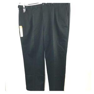 Haggar Mens Pleated Pants Big & Tall 48x29